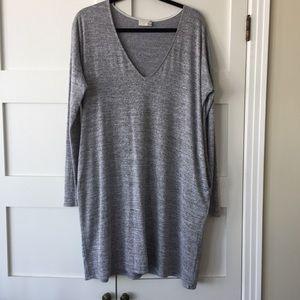 Wilfred Gail heathered gray dress M